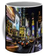 Times Square Traffic Coffee Mug
