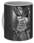 Time's Up - Black And White Coffee Mug