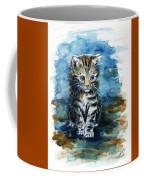 Timid Kitten Coffee Mug