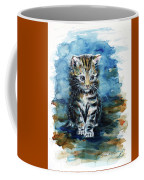Timid Kitten Coffee Mug