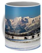 Timpanogos From The North Fields Coffee Mug