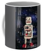 Tin Toy Robots Coffee Mug