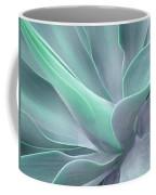 Tinted Agave Attenuata Abstract Coffee Mug