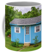 Tiny Blue House Coffee Mug