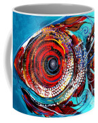 Tiny Blue Pill Coffee Mug