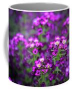 Tiny Purple Flowers Coffee Mug