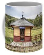Tiny Train Station Barnet Vermont Coffee Mug