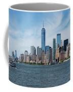 Tip Of Manhattan Wide Coffee Mug