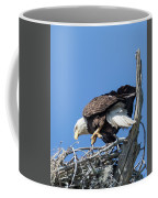Tip Toeing Across Nest Coffee Mug