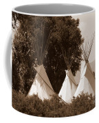 Tipis In Toppenish Coffee Mug