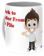 Tips And Trick To Recover Folder From Windows 10 File Explorer Coffee Mug