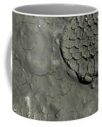 Tire Track In Gray Mud Coffee Mug