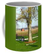 Tree Tire Swing  Coffee Mug