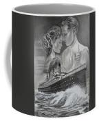 Titanic Drawing With Kate And Leonardo Coffee Mug