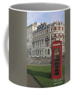 Titanic Hotel And Red Phone Box Coffee Mug