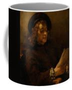 Titus Van Rijn, The Artist's Son, Reading Coffee Mug