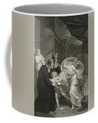 Titus's Garden. Lucius Pursued By Lavinia Coffee Mug
