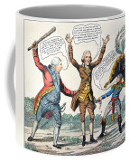 T.jefferson Cartoon, 1809 Coffee Mug