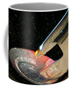 To Boldly Go Coffee Mug by Kristin Elmquist