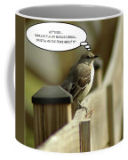 To Fly Or Not To Fly Coffee Mug