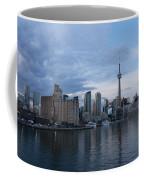 T O Harbour In Blue Coffee Mug