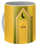 To The Beach - Decorative Outhouse And Sign Coffee Mug