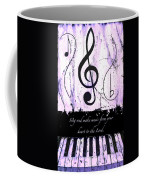 To The Lord - Purple Coffee Mug