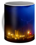 To The Right Budweiser Lightning Strike Coffee Mug by James BO  Insogna