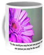 To The World Coffee Mug