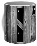 Tobacco Barn Wood Detail Coffee Mug