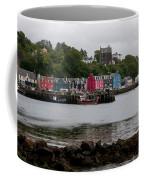 Tobermory Town Cityscape, Isle Of Mull Coffee Mug