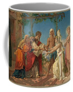 Tobias Brings His Bride Sarah To The House Of His Father Tobit Coffee Mug