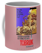 Tobruk Theatrical Poster 1967 Color Added 2016 Coffee Mug