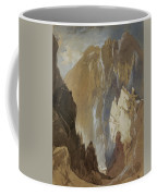 Toltec Gorge And Eva Cliff From The West, Colorado, 1892 Coffee Mug