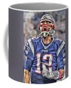 Tom Brady Art 5 Coffee Mug