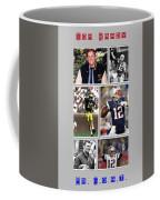 Tom Brady Football Goat Coffee Mug