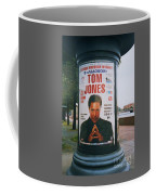 A Rare Collectible Poster Of Tom Jones In Russia Coffee Mug