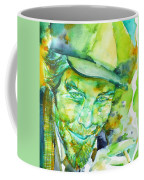 Tom Waits - Watercolor Portrait.5 Coffee Mug