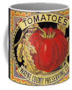 Tomato Can Label Coffee Mug