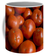 Tomatoes Sit In The Sun Awaiting Buyers Coffee Mug