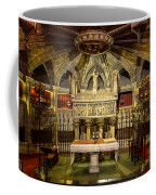 Tomb Of Saint Eulalia In The Crypt Of Barcelona Cathedral Coffee Mug
