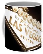 Tonight In Vegas Coffee Mug by Az Jackson