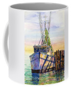 Tonyo Shrimp Boat Coffee Mug
