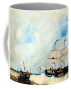 Too Close To Shore Coffee Mug