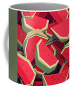Too Many Watermelons Coffee Mug