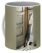 Tip Toe Cat Coffee Mug