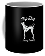 Top Dog Brewing Company Tee White Ink Coffee Mug