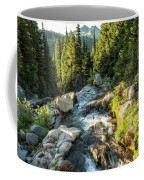 Top Of The Morning At The Top Of Myrtle Falls Coffee Mug