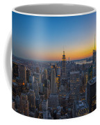 Top Of The Rock At Sunset Coffee Mug