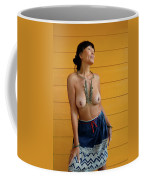 topless Black Hmong 2 Coffee Mug